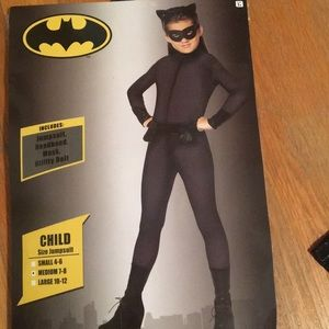 Girls Catwomen Costume